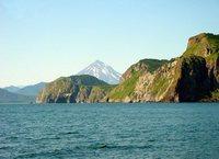 View of Vilyuchinsky volcano